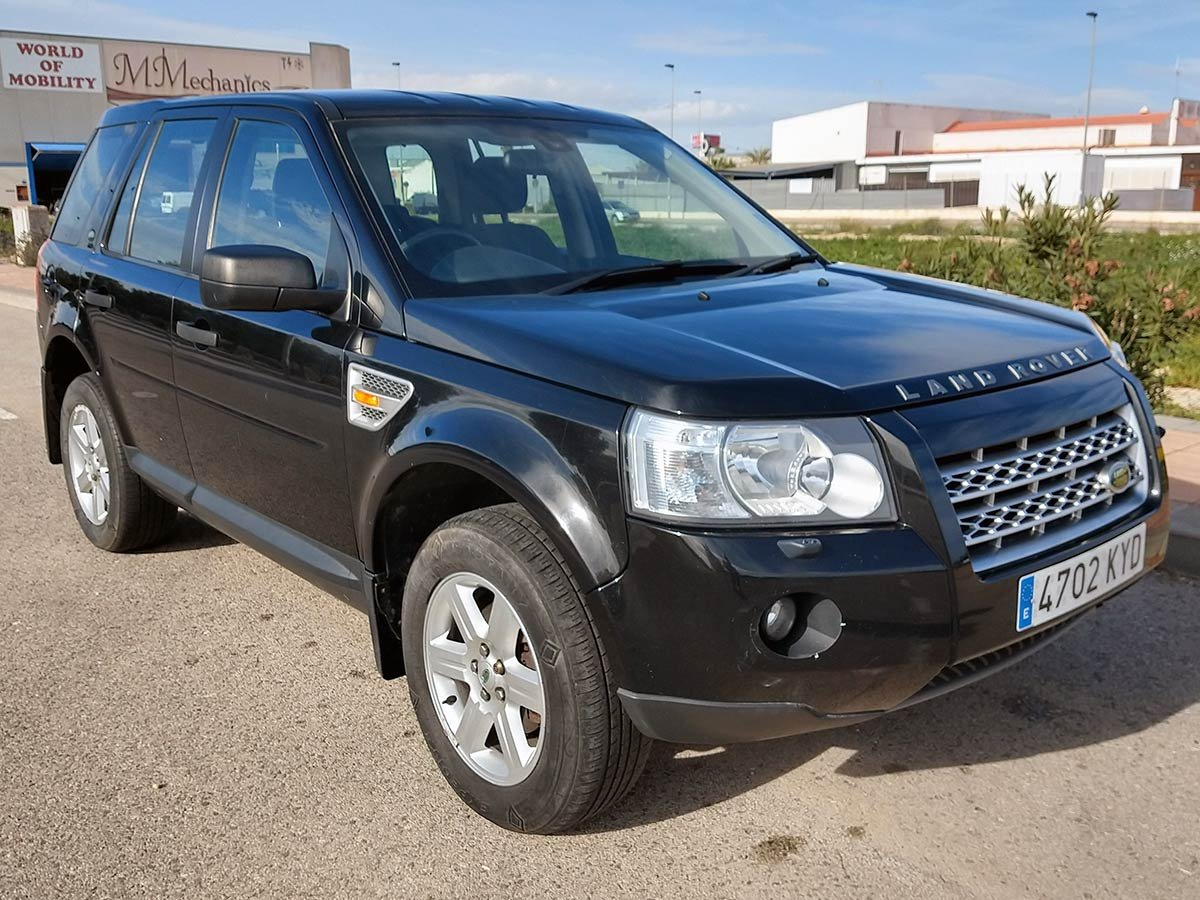 Used Landrover Freelander TD4 Auto (RHD - ES) Spain