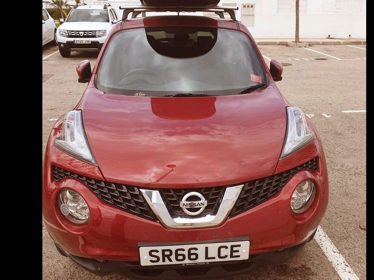 Nissan Juke - Top spec! (RHD)
