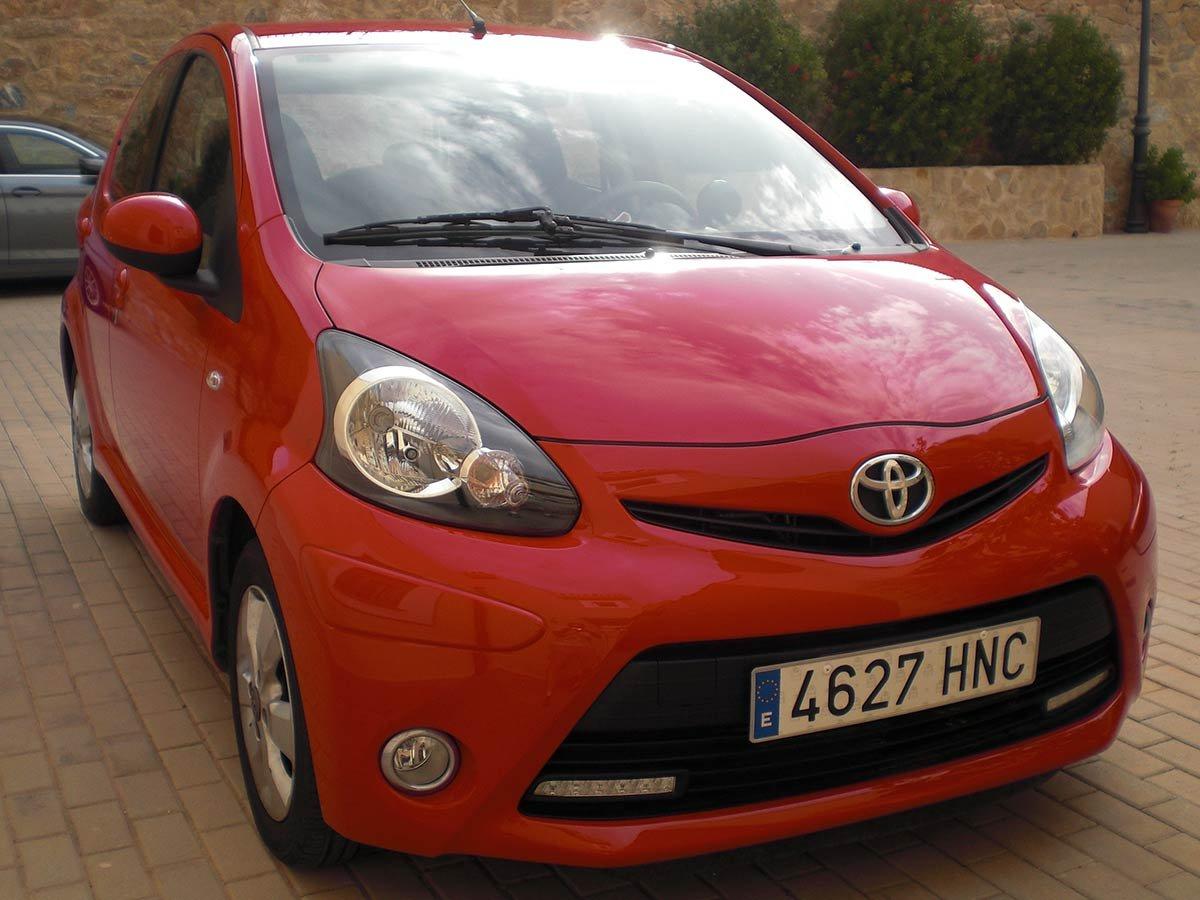 Used Toyota Aygo Auto Spain