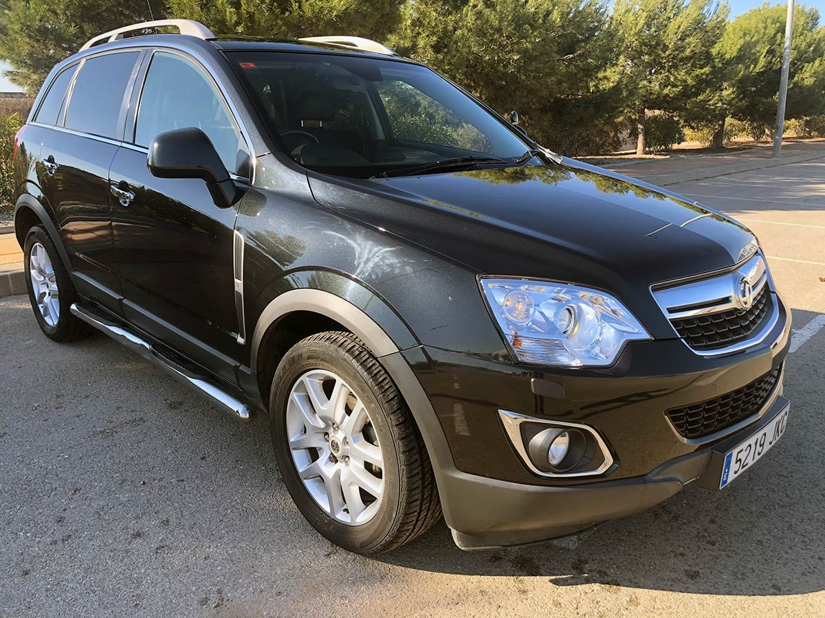 Used Vauxhall Antara (RHD - ES) Spain