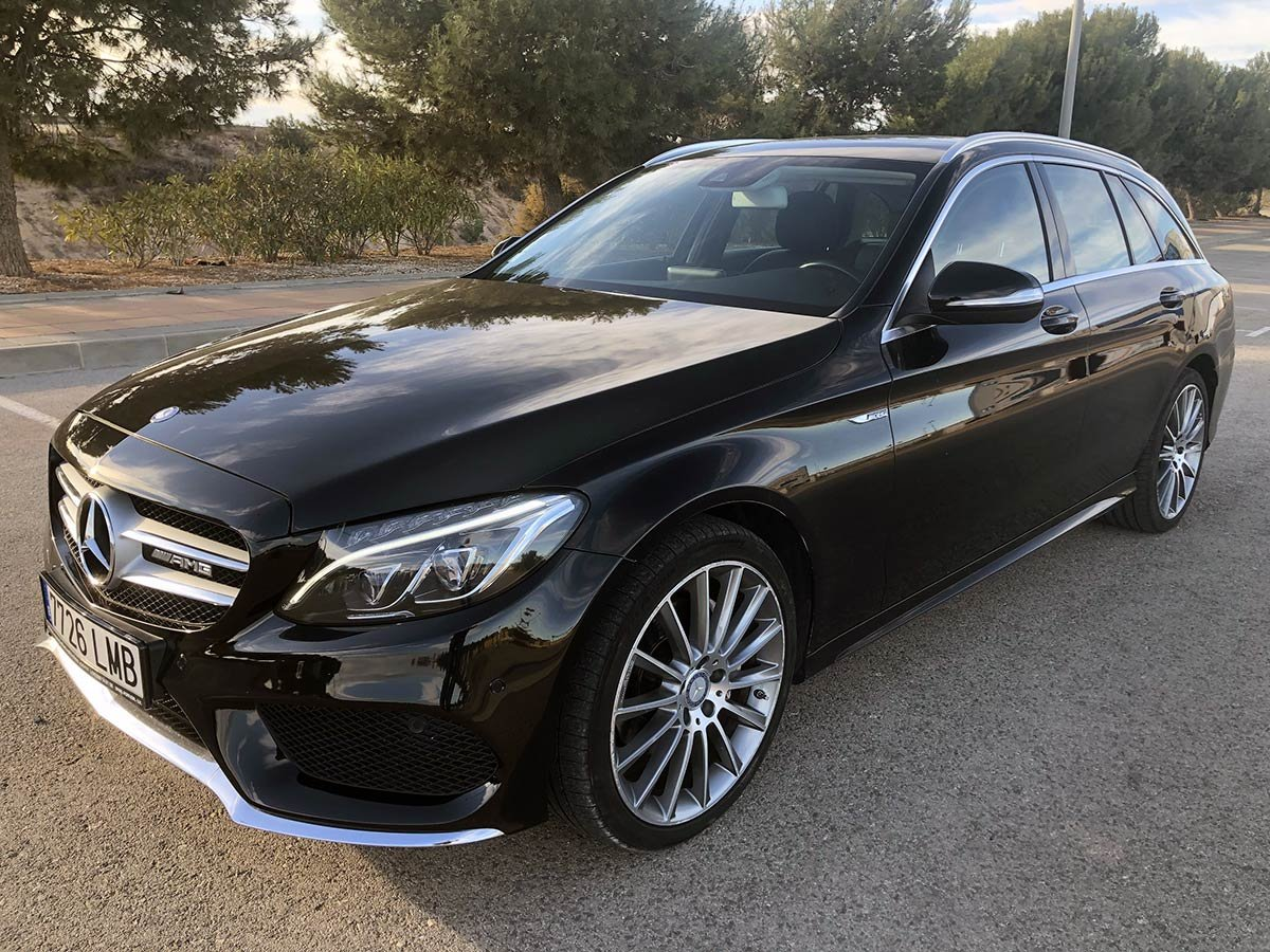 Used Mercedes C220 AMG Sport Estate Spain