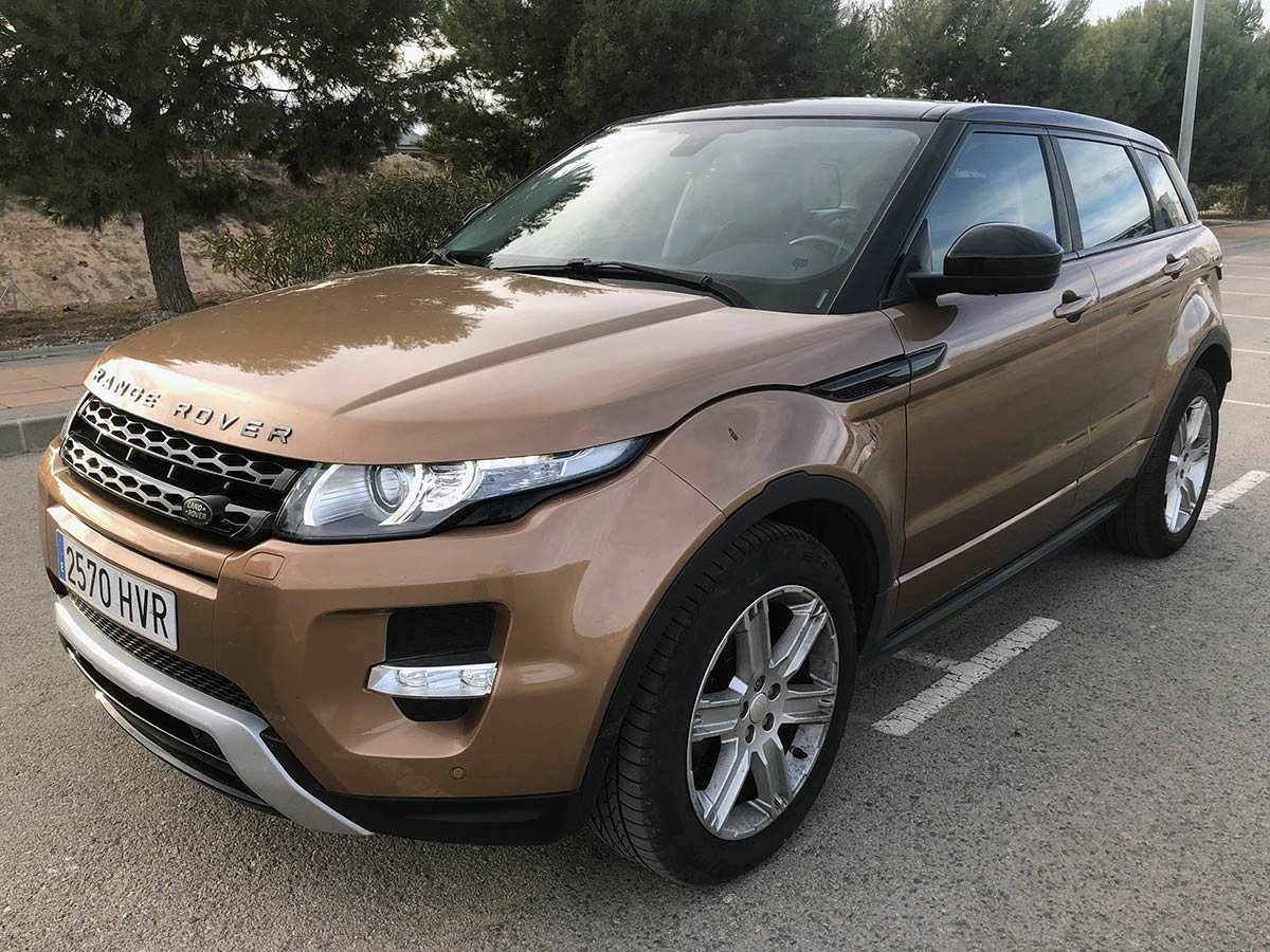Used Rangerover Evoque ES4 Spain