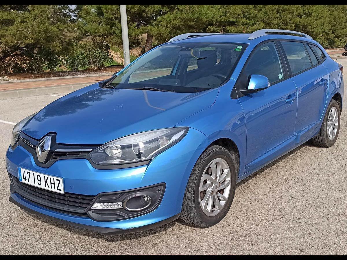 Used Renault Megane Estate Auto Spain