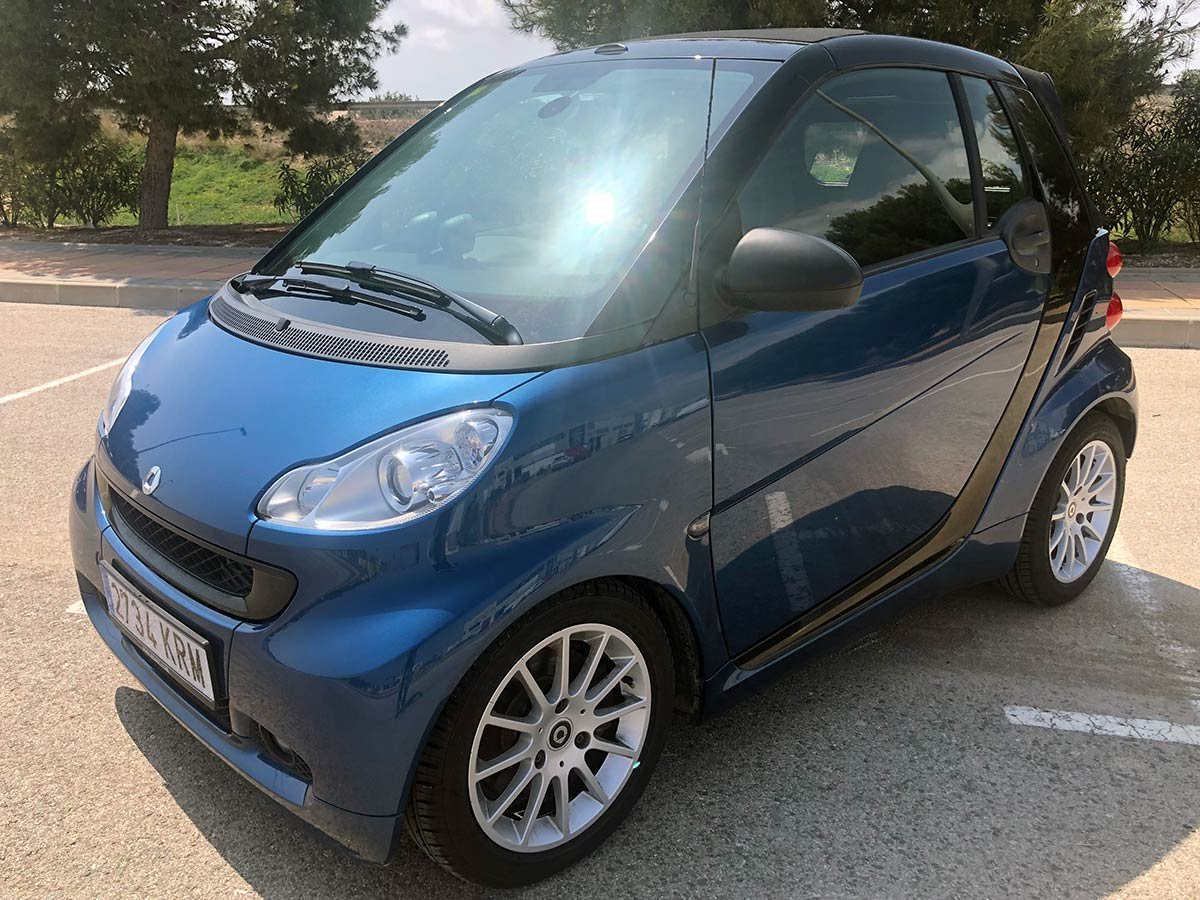 Used Smart FourTwo Auto Cabriolet Spain