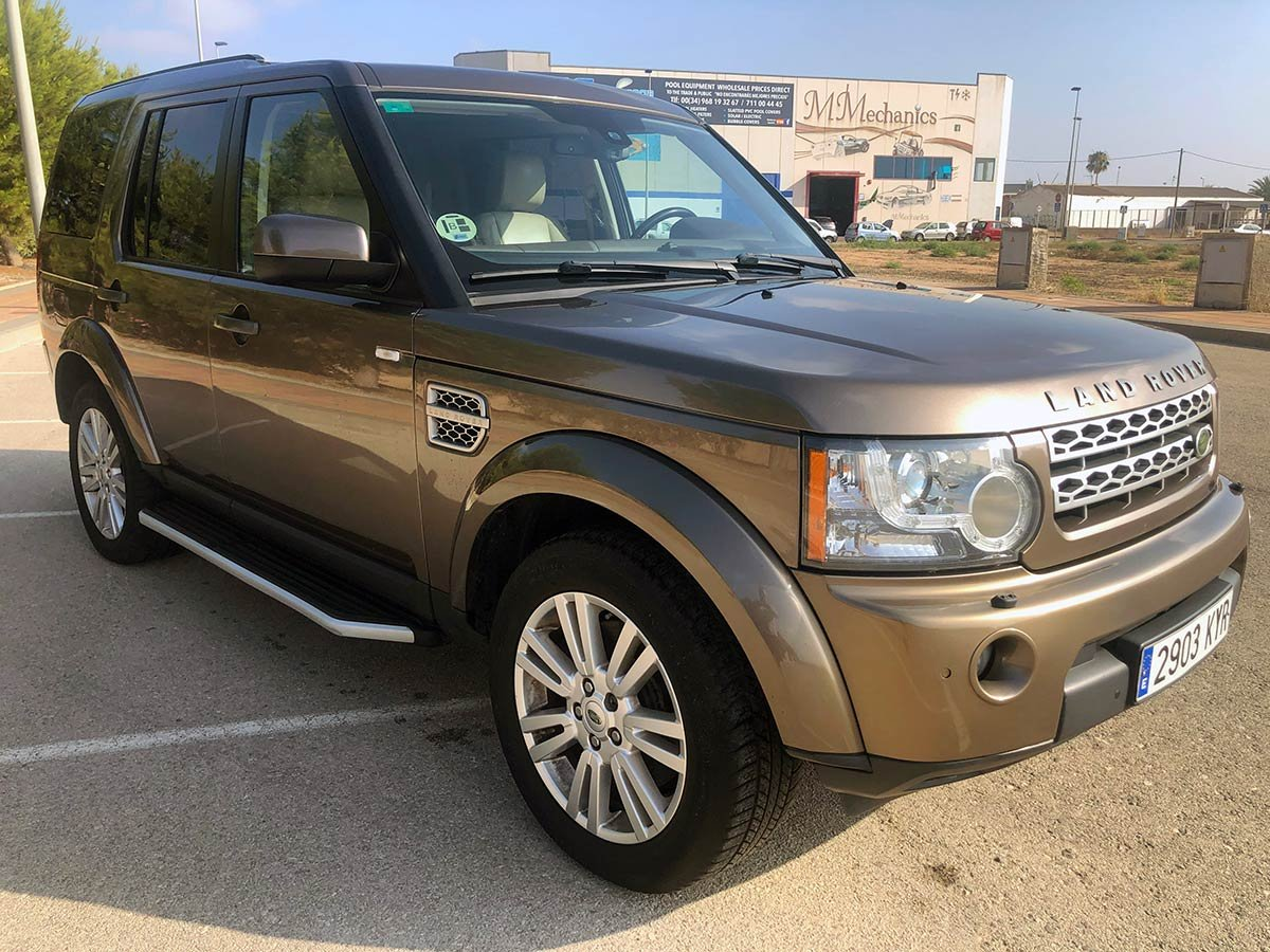 Used Landrover Discovery TDV6 7-Seater Auto Spain
