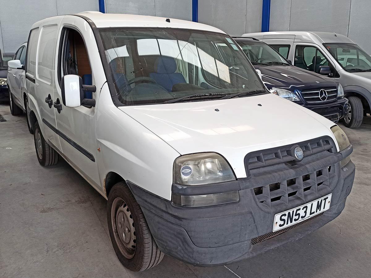 Fiat Doblo Cargo (RHD)