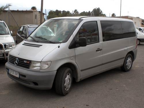 second hand mercedes vito 7 seat auto for sale san. Black Bedroom Furniture Sets. Home Design Ideas