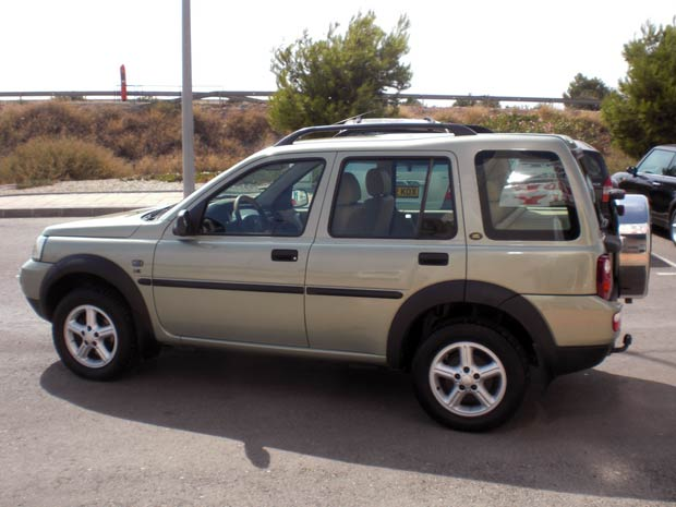 Second Hand Landrover Freelander Auto For Sale San