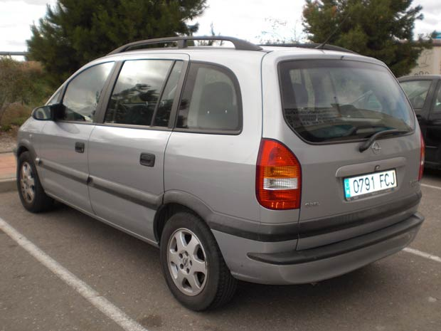 Second Hand Opel Zafira 7 Seat For Sale San Javier