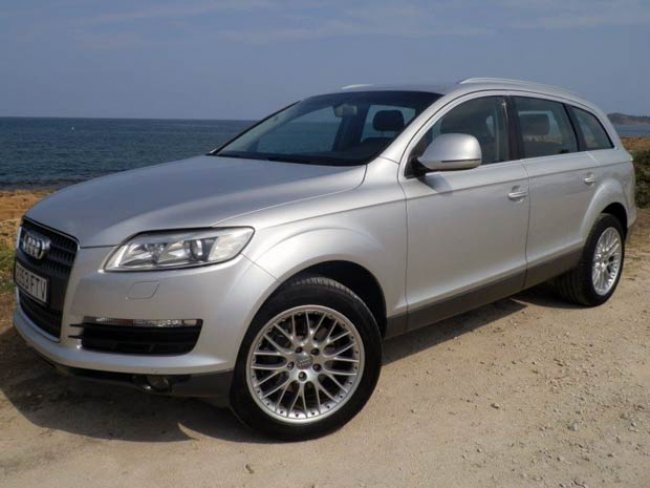 Second hand Audi Q7 S-Line for sale - San Javier, Murcia