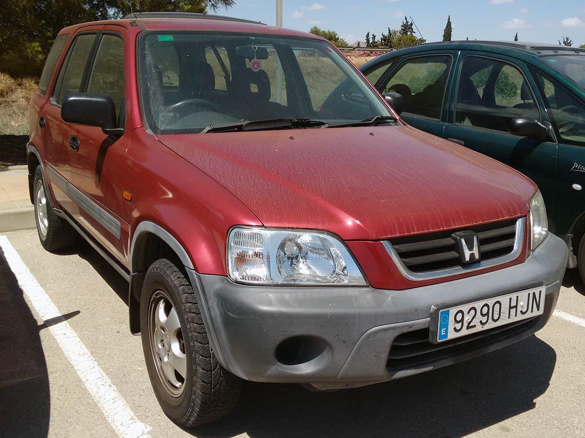 Used Honda CRV Auto (RHD) Spain