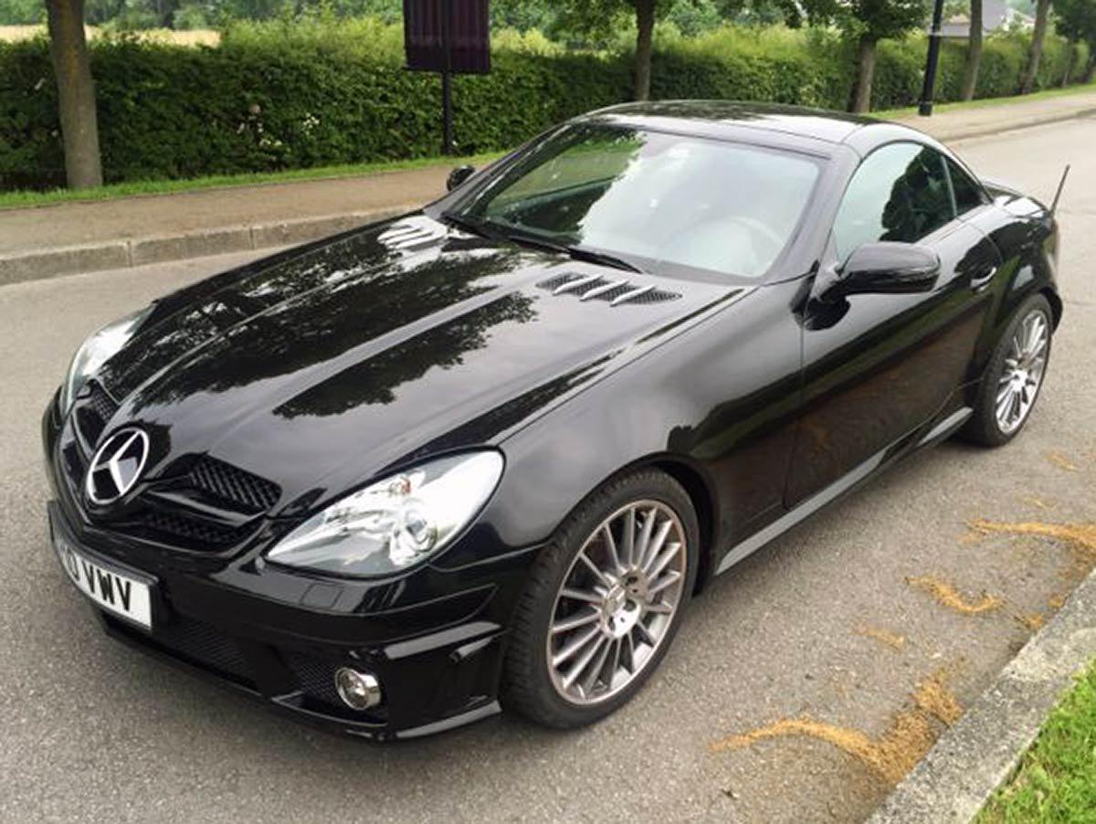 Used Mercedes SLK55 AMG Cabriolet Spain