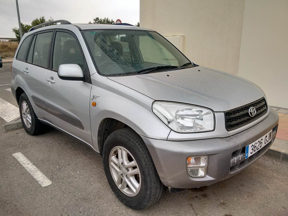 Used Toyota Rav 4 (RHD Spanish reg) Spain