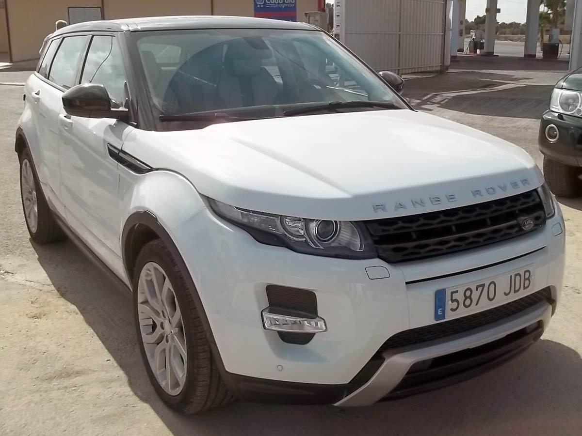 Used Range Rover Evoque Dynamic Auto Spain