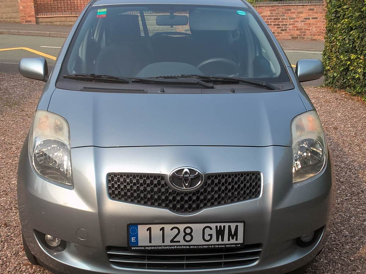 Used Toyota Yaris D4D Spain
