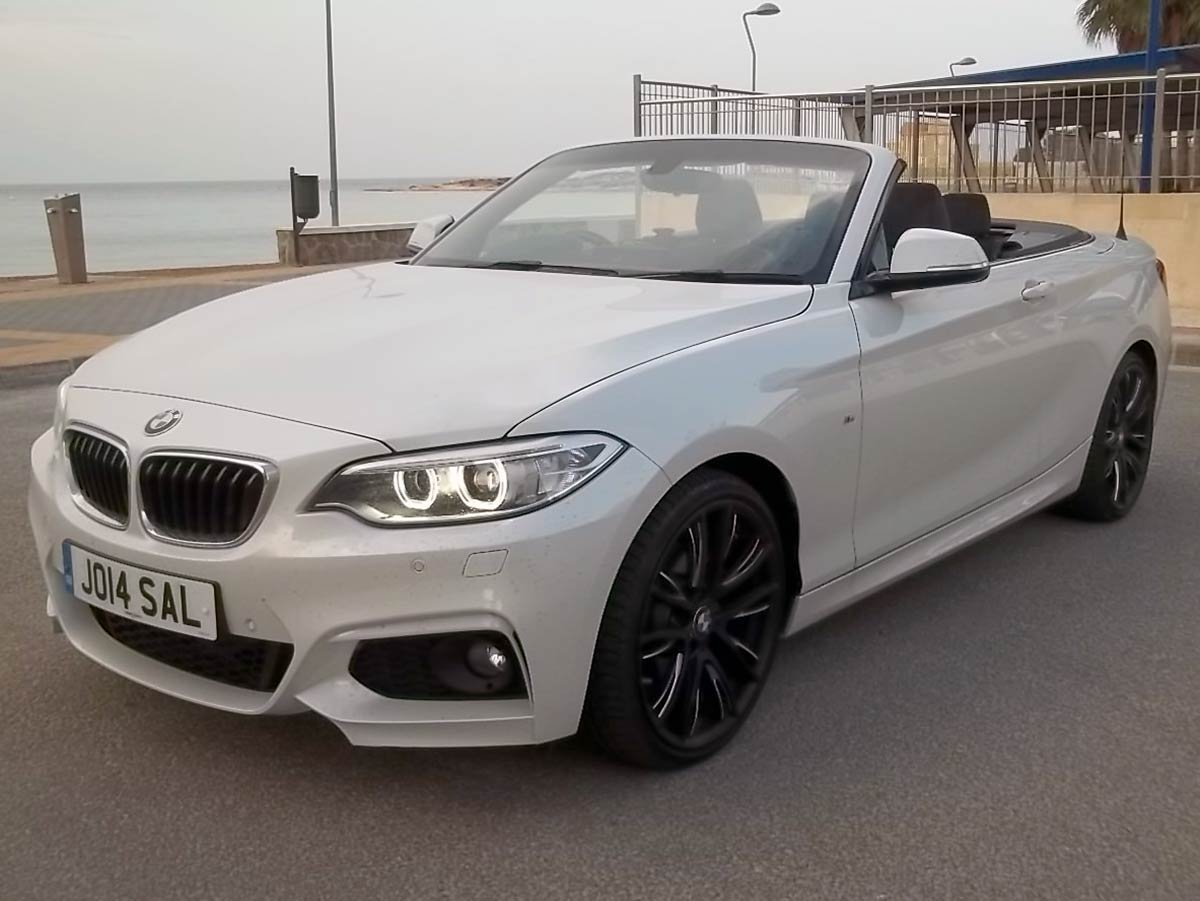 Used BMW 220D Cabriolet Auto (RHD) Spain