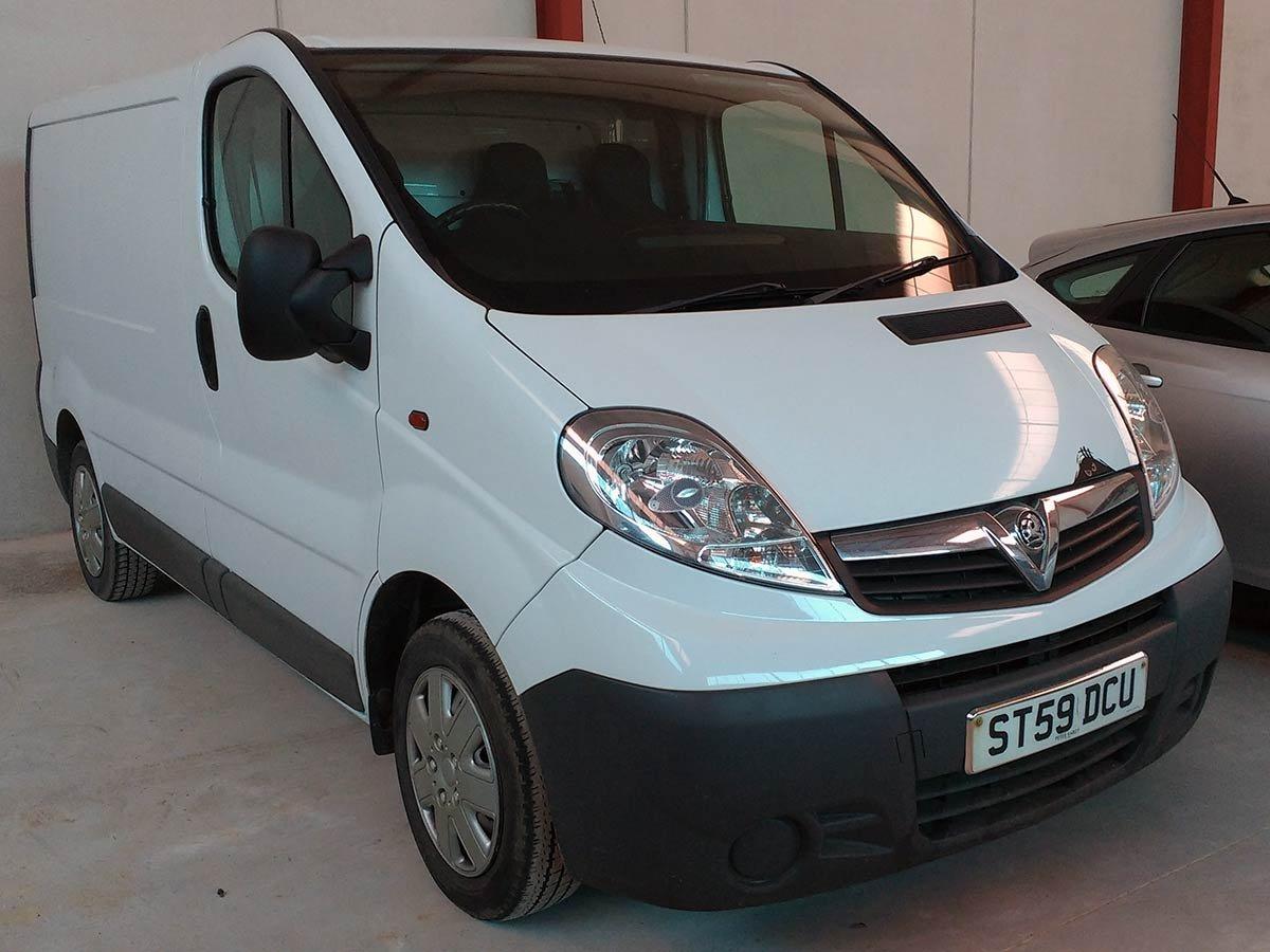 Used Vauxhall Vivaro Van Spain