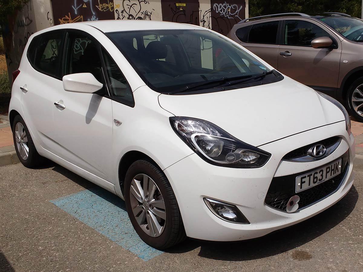Used Hyundai ix20 Auto (RHD) Spain