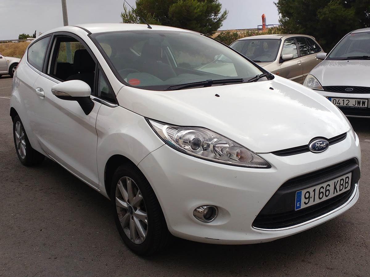 Used Ford Fiesta (RHD - ES) Spain