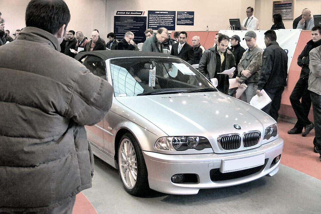 Specialist Vehicles at the car auction